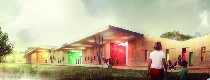 Construction d'un groupe scolaire à Vany