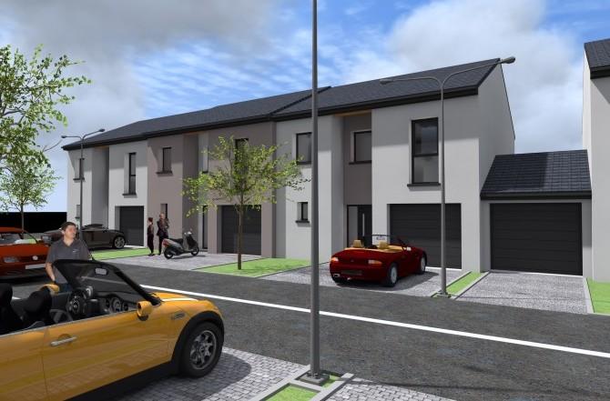 Construction de 11 maisons de ville jumelées à BURE-TRESSANGE