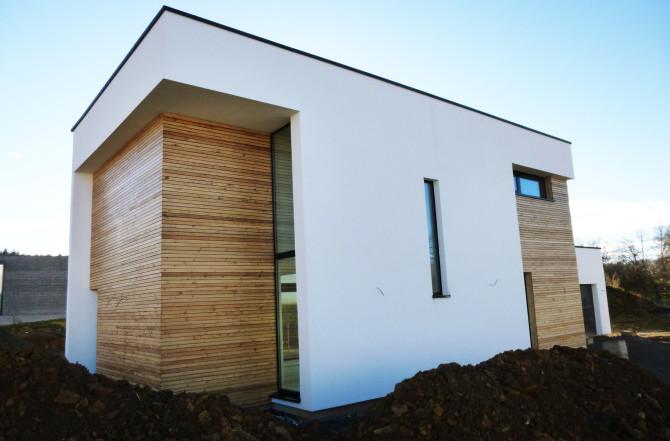 Maison ossature bois BBC à Neufchef