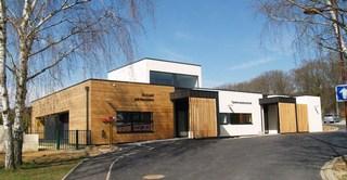 Reconstruction d'une salle des fêtes et construction d'un périscolaire en extension à Boust