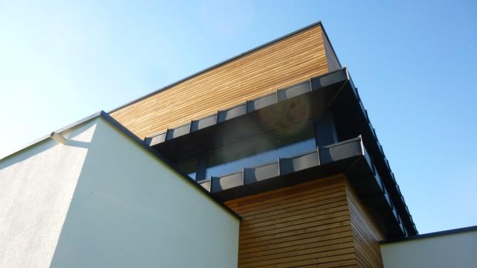 Maison à ossature bois à Koenigsmacker
