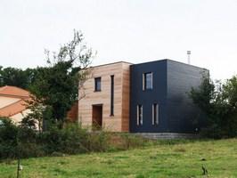 Maison individuelle ossature bois à Launstroff (57)